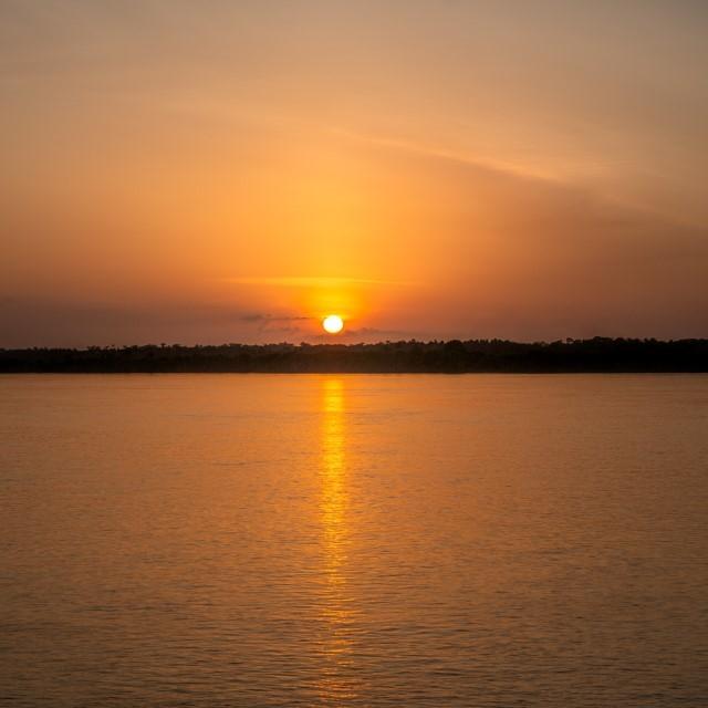 Por do sol - TO - Brasil