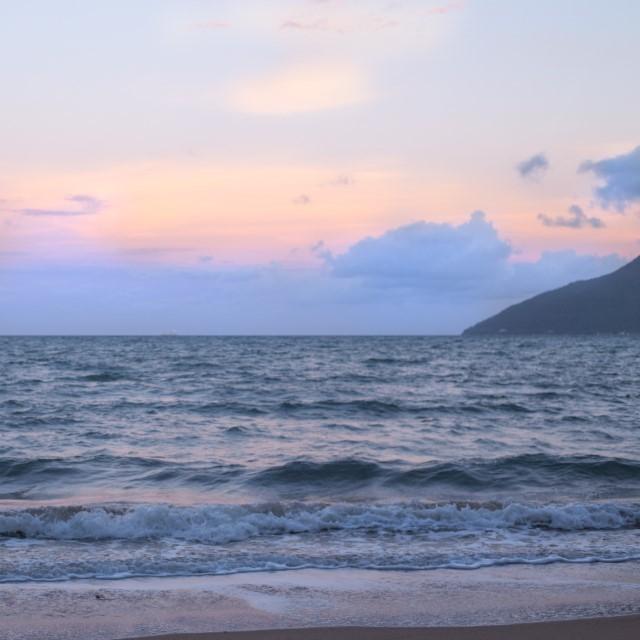 O movimento do mar - Prainha do Leste - SP - Brasil