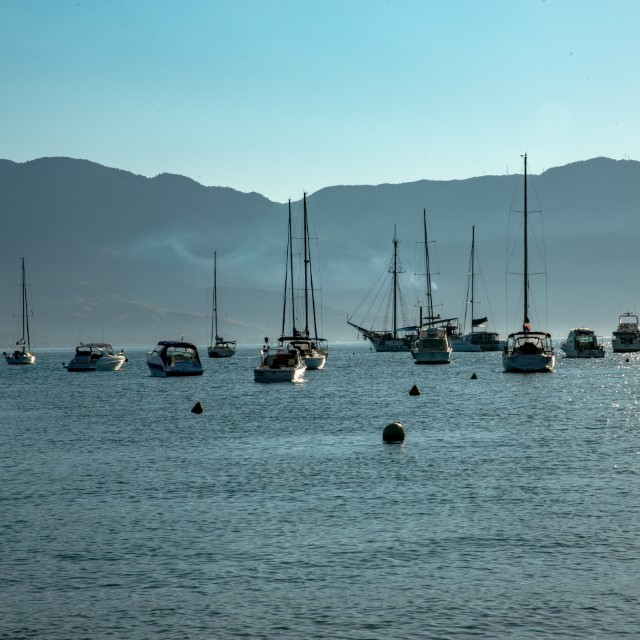 Barcos - Ilha Bela - SP - Brasil